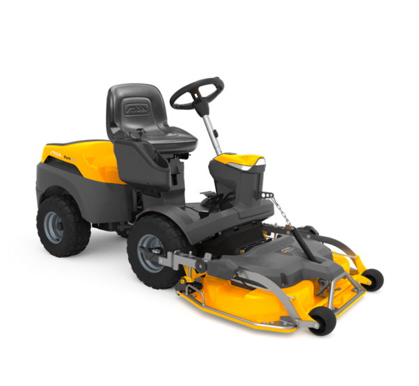 stiga out front lawnmower
