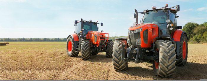 Kubota tractor m7002