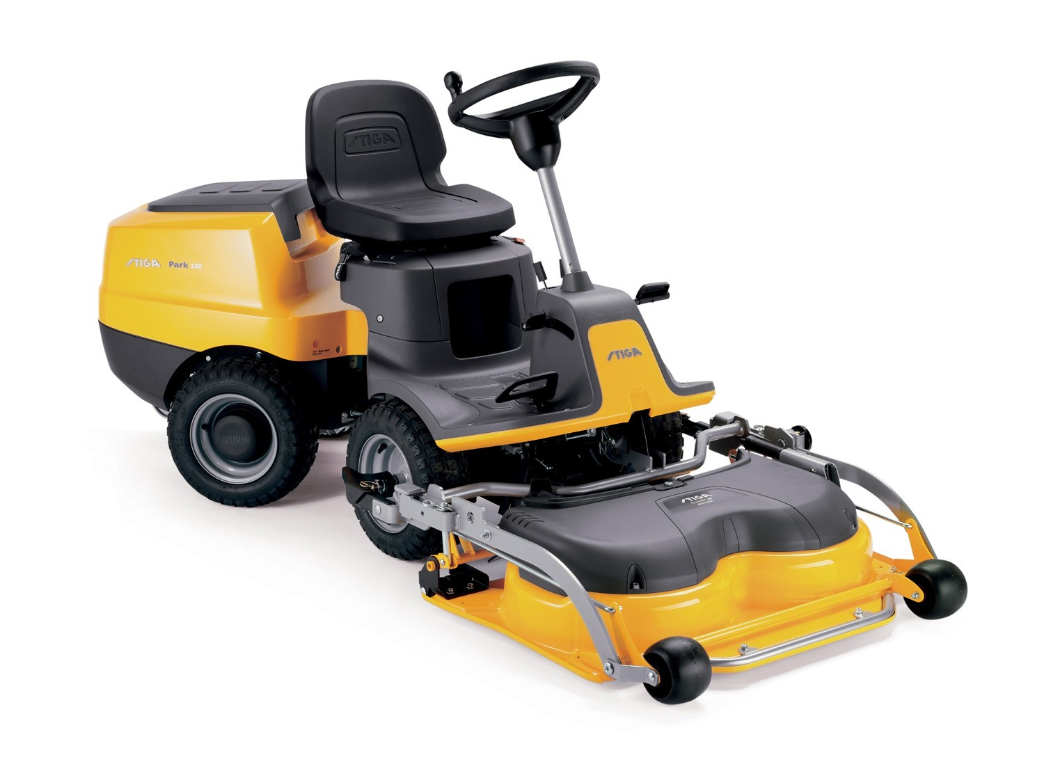 Stiga Park 120 2WD lawnmower complete with 85cm Combi QF Cutting Deck