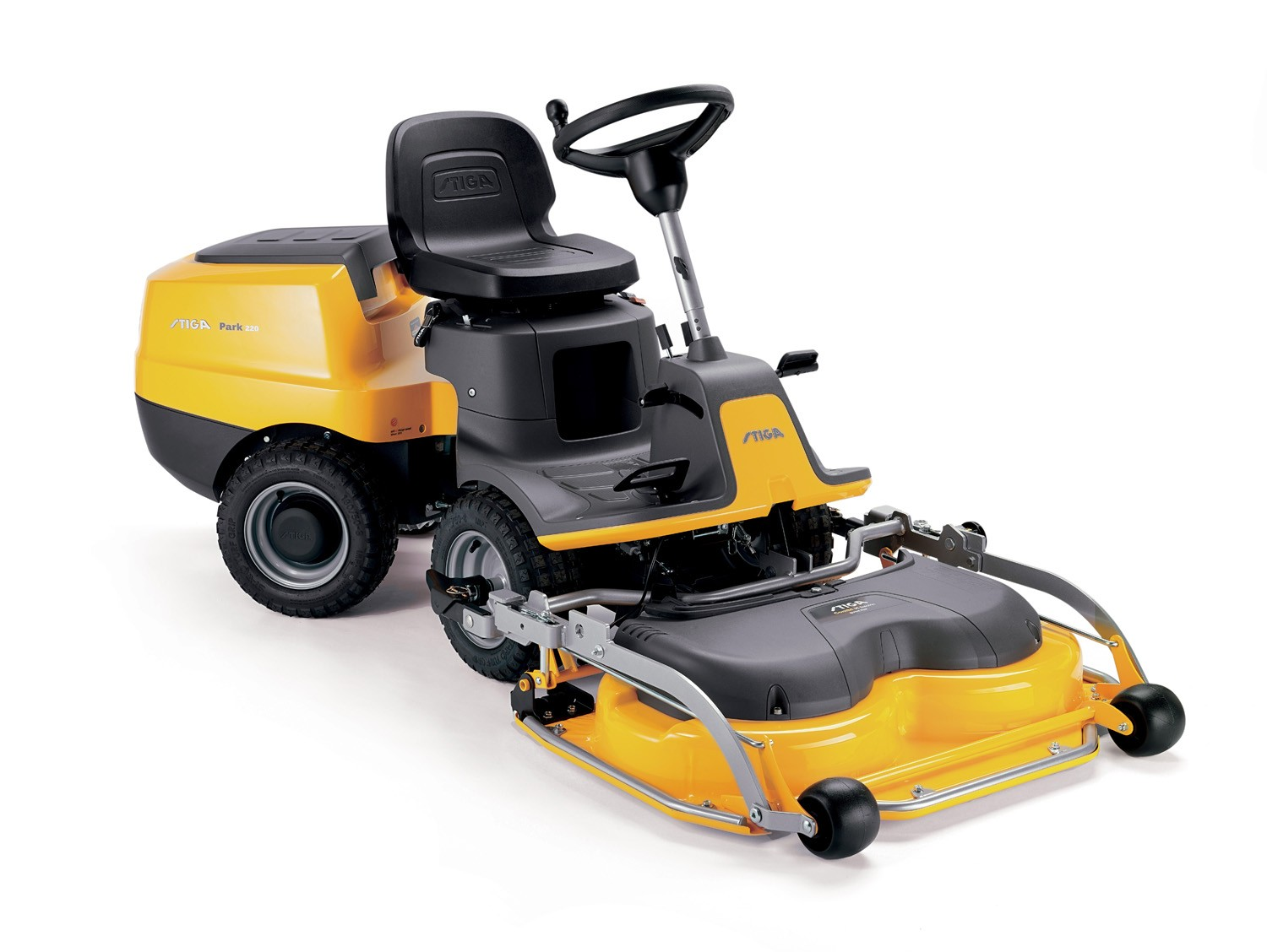 Stiga Park 220 2WD lawnmower complete with 95cm Cutting Deck
