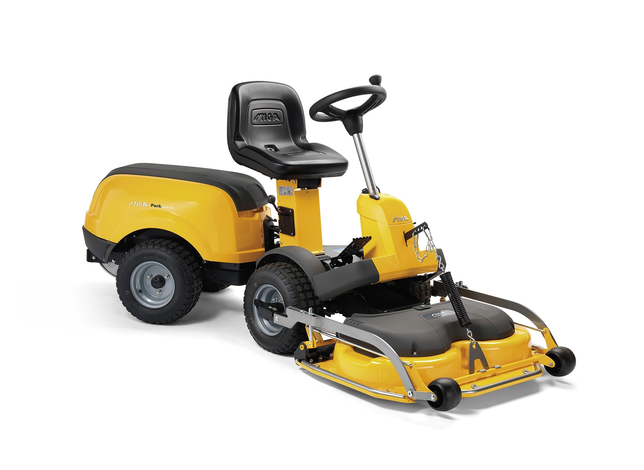 Stiga Park 340 PX 4WD Ride On Lawnmower with 95cm Combi Cutter Deck