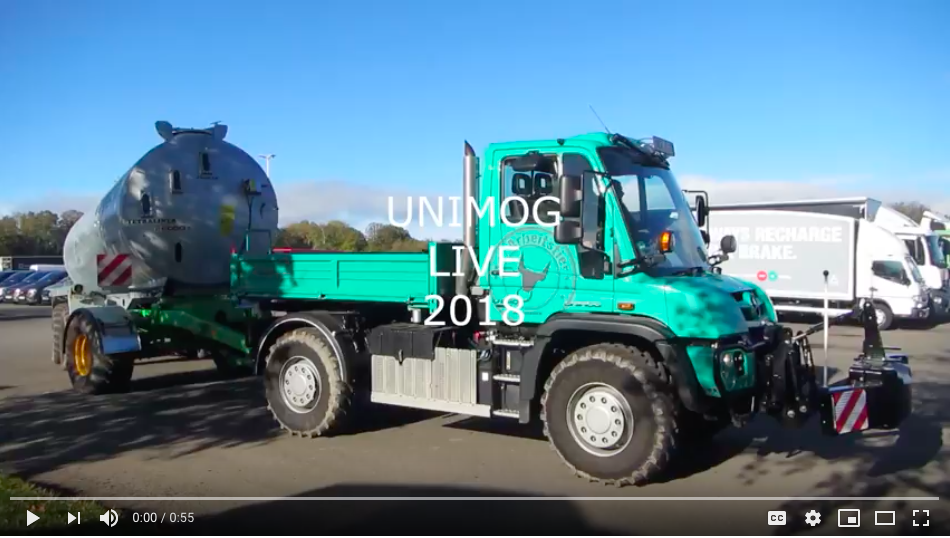 Unimog Live 2018 - Ibbetts - Agricultural and Garden