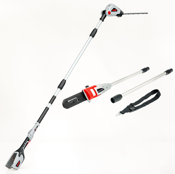 cordless 2 in 1 hedge cutter alko