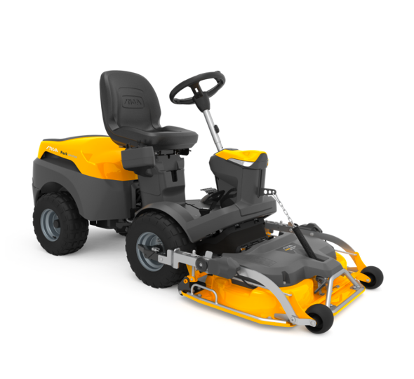 stiga front cut lawn mower