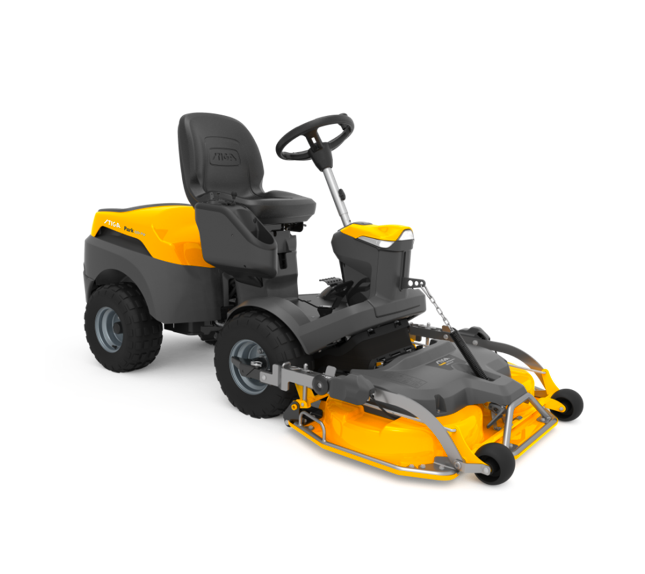 stiga out front lawn mower