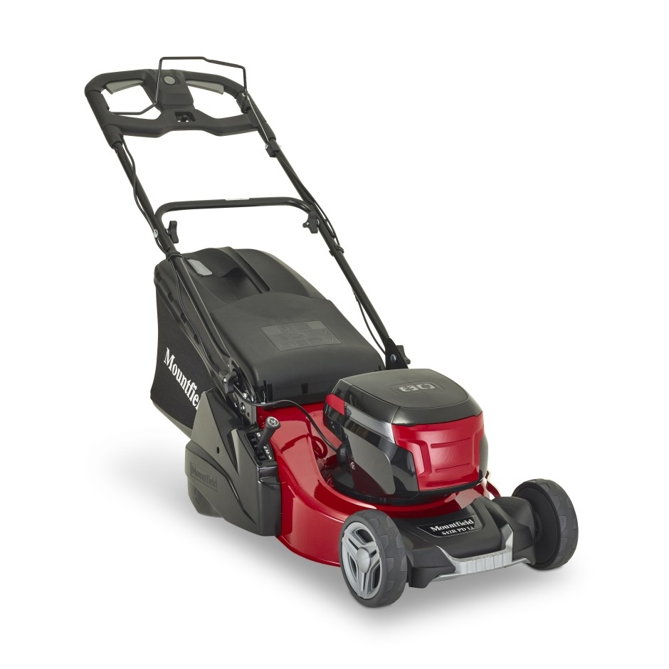 cordless roller lawnmower