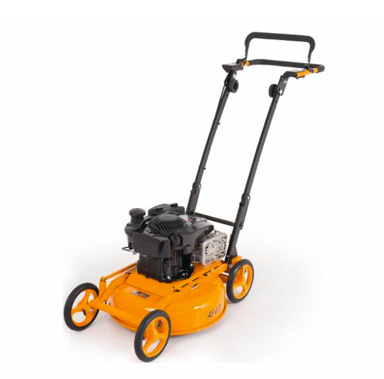 orange commercial lawn mower