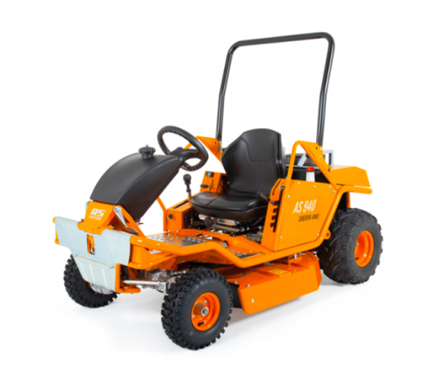commercial 4wd ride on mower