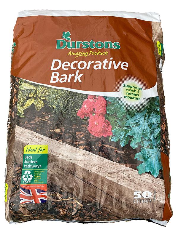 50litre bag of decorative bark