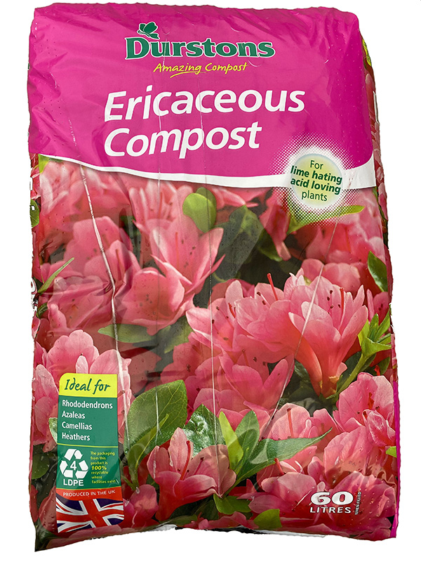 40 litre bag of Erecacious compost