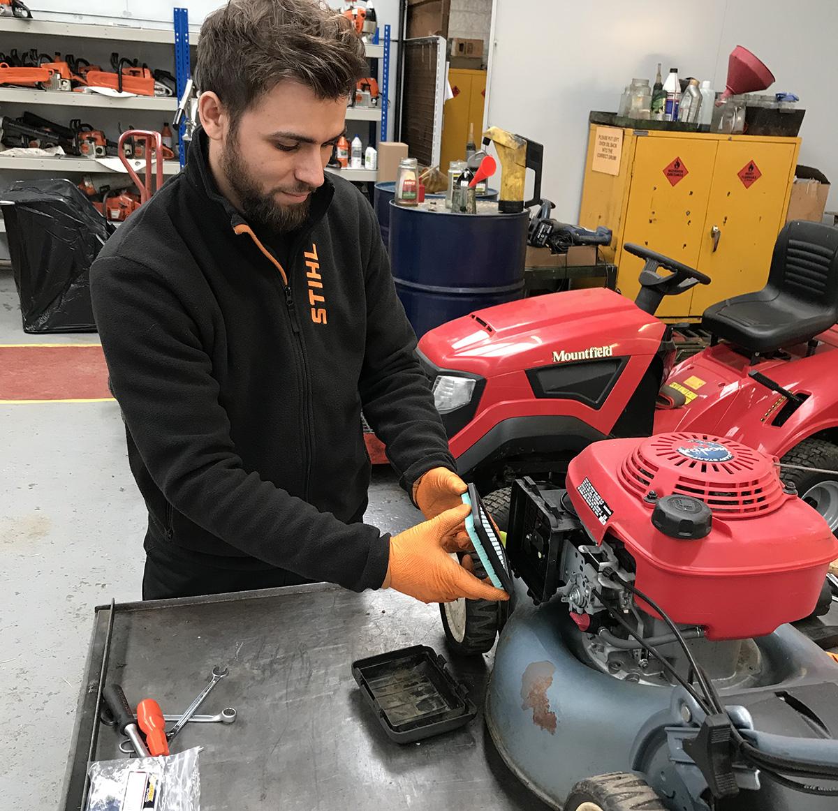 honda lawnmower repair